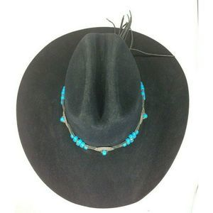 Bailey Black Angora Blend Western Cowboy Hat